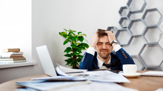 Frustrated owners of start-ups